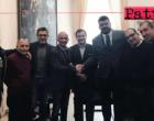 MILAZZO – Il sindaco Formica incontra il presidente della Fir Sicilia, Orazio Arancio