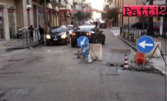 """BROLO – Via Nazionale. Associazione """"Pio La Torre – Circolo di Brolo"""": """"Lavori necessari eseguiti maldestramente"""""""