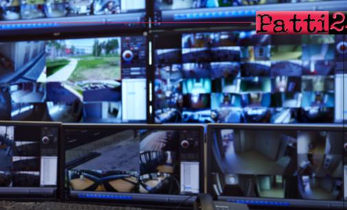 CAPO D'ORLANDO – Videosorveglianza: 37 telecamere in più sul territorio comunale