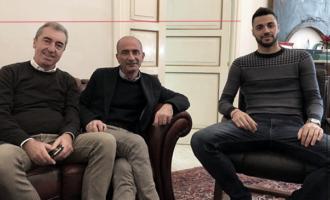 MILAZZO – Il campione italiano di salto in lungo, Antonio Trio ricevuto dal sindaco Formica