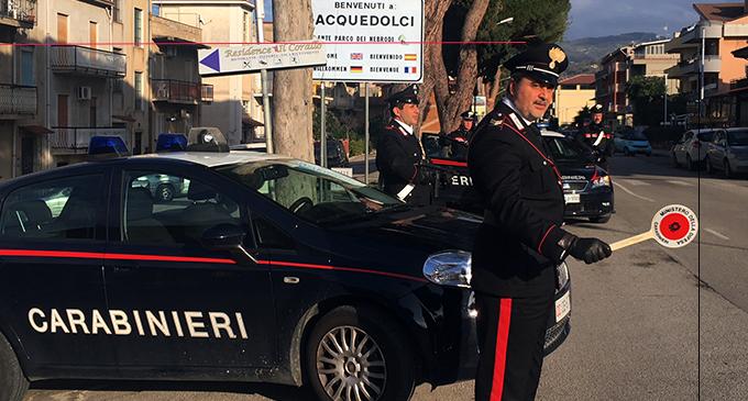 ACQUEDOLCI – 59enne arrestato per estorsione continuata aggravata dal metodo mafioso.