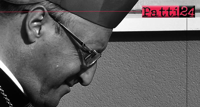 """PATTI – Il vescovo mons. Giombanco, ha voluto far """"sentire la propria voce"""" in merito al duplice omicidio di Ucria."""