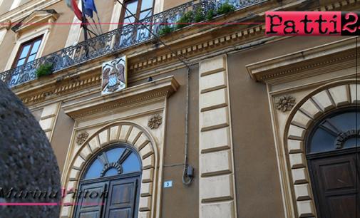 PATTI – Convocato per martedì 26 il consiglio comunale.