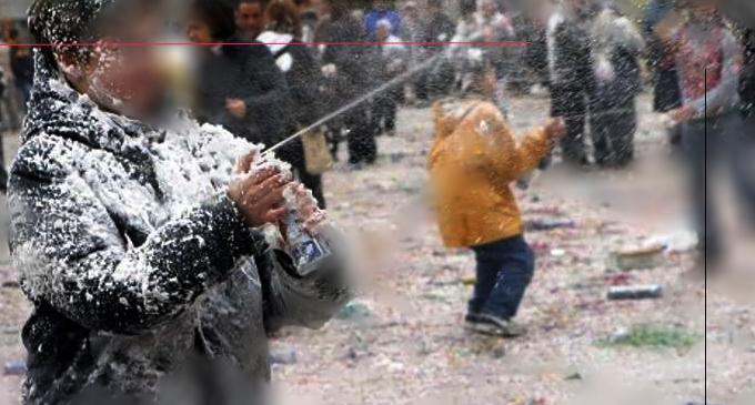 PATTI – Carnevale Pattese 2018. Vietato vendere bevande in contenitori di vetro, bombolette schiuma spray , mazze, bastoni, martelli di plastica …