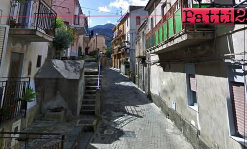 PATTI – Iniziano oggi i lavori urgenti di rifacimento di un tratto della via Sant'Antonio Abate e dei relativi sottoservizi