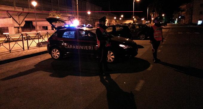 BARCELLONA P.G. – Trovate armi e droga, cinque denunce e segnalati vari assuntori di sostanze stupefacenti