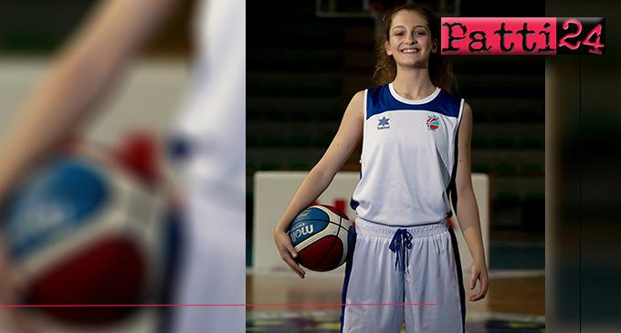 PATTI – Giorgia Cucinotta dell'Alma Basket alla selezione siciliana che dal 29 marzo al 2 aprile, parteciperà, a Seregno, al Trofeo delle Regioni