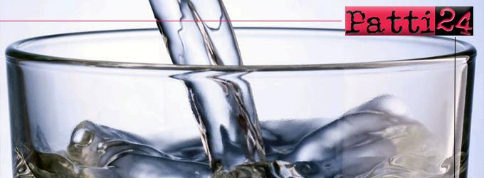 SAN PIERO PATTI – Divieto dell'uso potabile dell'acqua nel centro urbano e nelle contrade Verdù, Marià e Casale