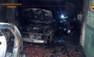 MESSINA – Incendio in una palazzina condominiale. Finanzieri mettono in salvo una donna disabile insieme ad una sua parente