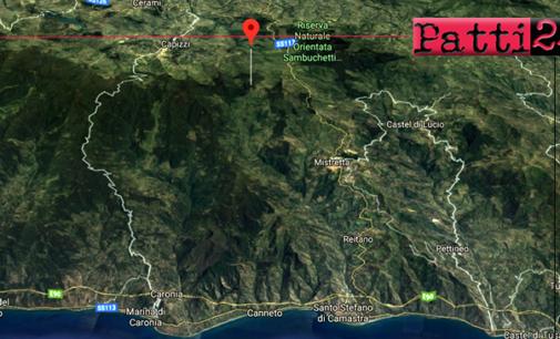 CAPIZZI – Lieve sisma di ML 2.4 con epicentro a 6 km da Capizzi, ipocentro a 4 Km di profondità