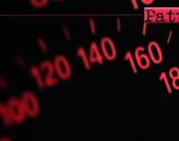MESSINA – Sfiorava i 170 km/h sulla strada provinciale 43 bis – Panoramica dello Stretto. Sanzionato automobilista dalla Polizia Metropolitana