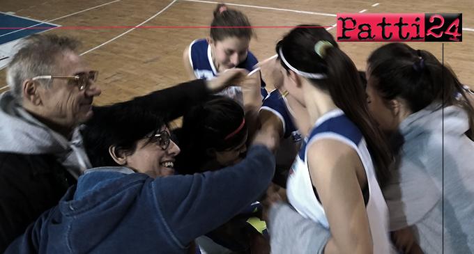 PATTI – L'Alma Basket Patti è vicina alla conquista del titolo regionale under 16 di basket femminile