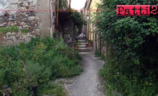 """PATTI – Scorci di Patti nel quartiere Sant'Antonio Abate, alle spalle di quello che era chiamato """"u campu di parrini"""". Abbandono e disinteresse assoluto"""