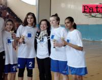 """PATTI – La scuola media """"Bellini"""" ha conquistato il titolo di campione provinciale di basket femminile 3X3 dei Campionati Studenteschi"""