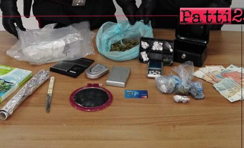 MILAZZO – Spaccio di Stupefacenti. 2 arresti ed un denuncia