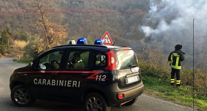 MIRTO – Arrestato in Flagranza di reato il piromane di Mirto. Appicca il fuoco in ben cinque punti diversi