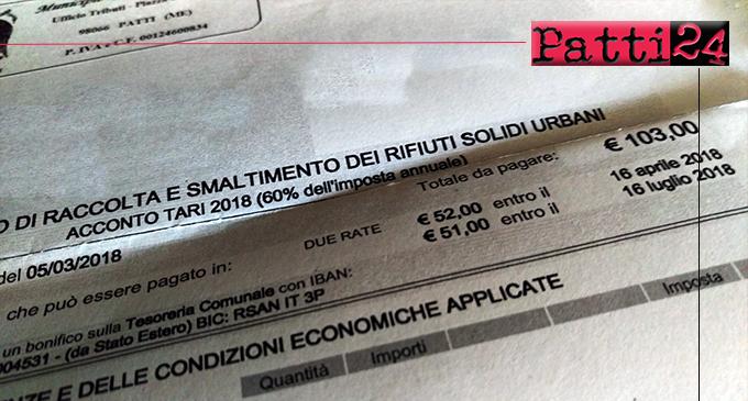 PATTI – Servizio notifiche avvisi pagamento (T.A.R.I.) anno 2021.