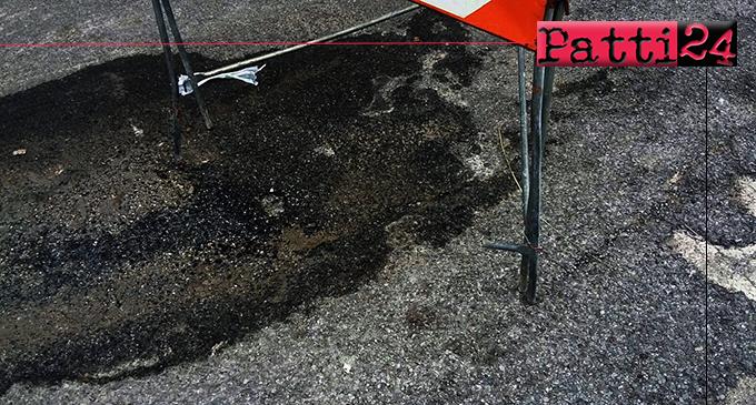 PATTI – Riparato guasto alla rete idrica all'incrocio tra le vie 2 Giugno e Molino Croce, interventi anche in via Nicolò Gatto Ceraolo.