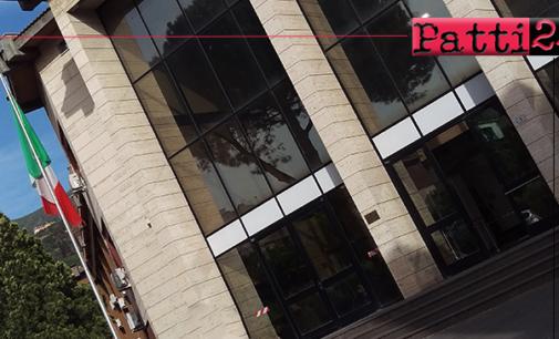 """PATTI – Tribunale di Patti.  Riscontrato un caso di tampone """"positivo"""" al Covid-19."""