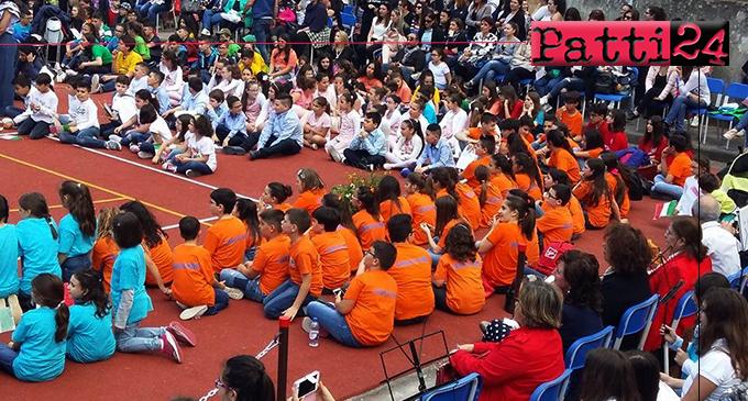 """PATTI – IIIª  edizione della Rassegna Musicale """"Le Muse"""". Si sono esibiti circa 400 bambini di 11 scuole della provincia"""