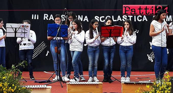 """PATTI – Alla 3ª edizione del concorso """"Le Muse"""" primo posto sezione flauti per il gruppo musicale della scuola secondaria di primo grado dell'I.C. Pirandello"""