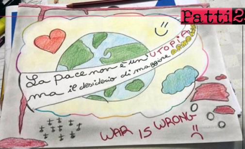 """BROLO – Il concorso """"Uno slogan per la pace"""" è stato promosso e finanziato dal poeta e scrittore Rosario La Greca di Brolo"""