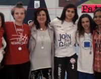 """PATTI – La """"Bellini"""" ad un soffio dal titolo di campione regionale dei Campionati Studenteschi di basket femminile 3X3"""