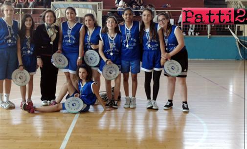 """PATTI – Campionati Studenteschi. Per la """"Bellini"""" è arrivato il secondo posto provinciale nella pallatamburello femminile"""