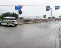 MESSINA – Panoramica dello Stretto, chiuso per rischio frana del costone un tratto della sede stradale tra Torrente Pace e Torrente Guardia
