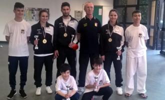 """PATTI – Ottimi risultati per la Scuola Karate Patti nella seconda tappa del """"Trofeo Csen 2018"""" svoltasi al """"PalaCatania"""""""
