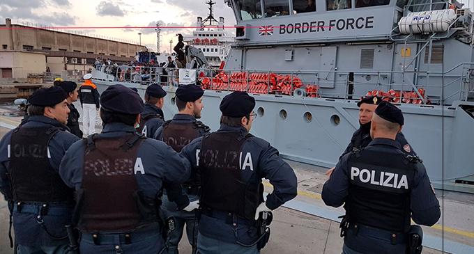 MESSINA – Sbarco dell'Open Arms. Arrestato migrante: era già stato espulso due anni fa