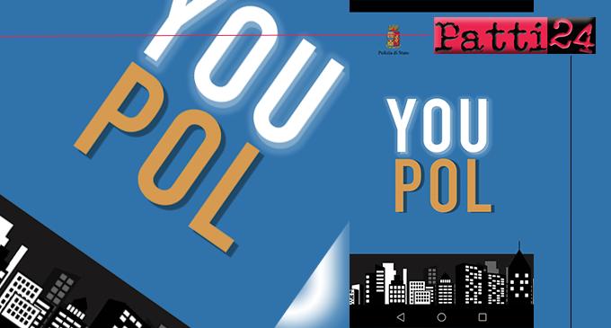 """MESSINA – Contro bullismo e droga, da domani  attiva l'applicazione """"YouPol"""" della Polizia di Stato"""