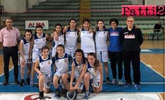 """PATTI – L'Under 13 dell'Alma Basket si è """"fermata"""" ad un passo dal titolo regionale"""