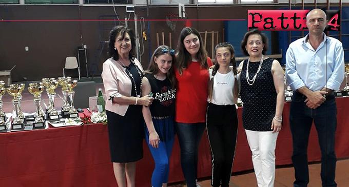 """PATTI – La """"Bellini"""" alla cerimonia di premiazione dei Campionati Studenteschi 2017/18 a Messina"""