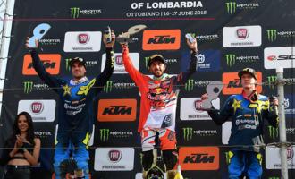 MXGP – GP di Lombardia. Il pattese Tony Cairoli prende l'occasione al volo vincendo ad Ottobiano. La corsa al mondiale è riaperta