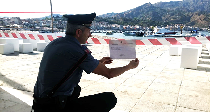 GIARDINI NAXOS – Lotta all'abusivismo edilizio e all'occupazione del suolo demaniale