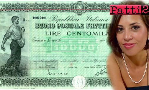 PATTI – Decreto ingiuntivo per Poste Italiane. Tre pattesi hanno ottenuto il corretto rendimento dei loro buoni fruttiferi.