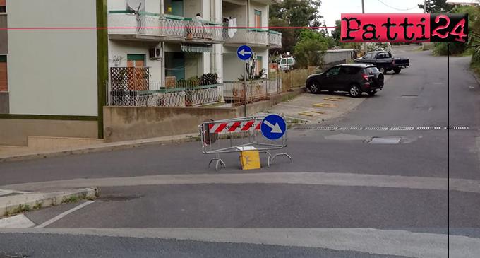 PATTI – L'asfalto ha ceduto e, voilà, ecco la nuova buca