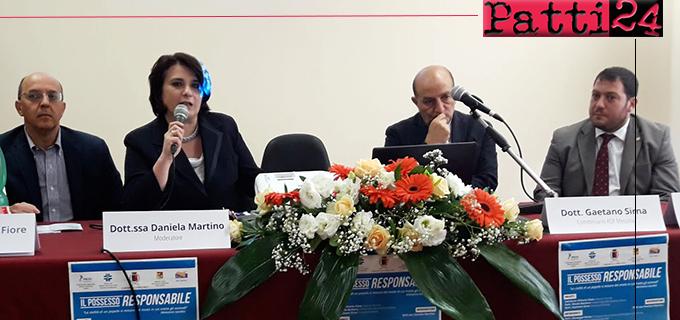 SAN PIERO PATTI – Esito positivo e accorata partecipazione al convegno sulla lotta al randagismo. L' ARS impegnata in prima linea