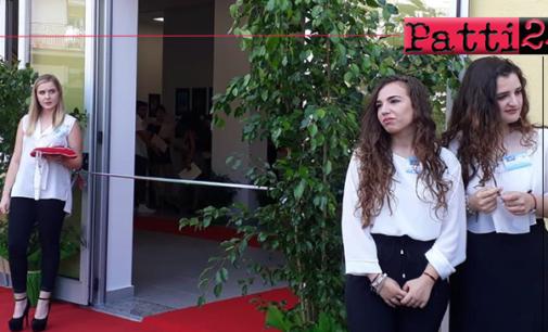 PATTI – Nel corso dell'inaugurazione della nuova sede del Liceo Scientifico è stato eseguito l'inno ufficiale dell'istituto