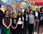 """PATTI – Montato nella centralissima via Mazzini murales del laboratorio di ceramica della scuola """"Bellini"""""""