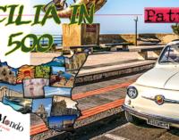 """SANTA TERESA DI RIVA – Domenica 3 giugno il tour """"Sicilia in 500"""" farà tappa a  Santa Teresa di Riva"""