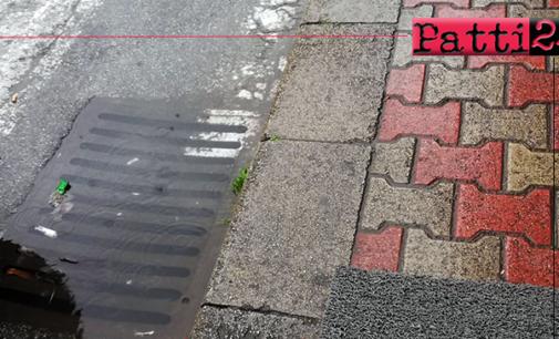 PATTI – Domani lavori di pulizia dei pozzetti per la raccolta delle acque bianche in Corso Matteotti e in via Garibaldi.
