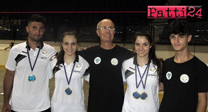 PATTI – Un oro e tre argenti alla Scuola Karate Patti al 12° Open Internazionali di Sicilia – Prof. Giuseppe Pellicone.