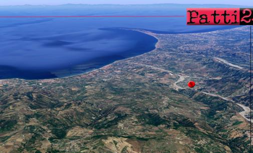MAZZARRA' SANT'ANDREA – Lieve evento sismico di ML 2.2 con epicentro a 1 km da Mazzarrà Sant'Andrea e ipocentro a 9 Km di profondità