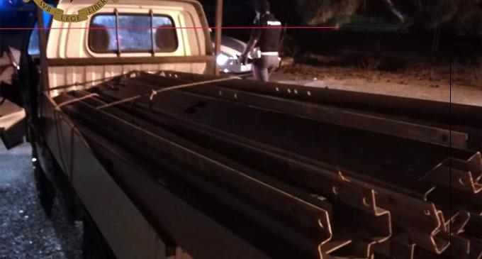MESSINA – Trovato intento a caricare il materiale appena rubato su un furgone. Arrestato 33enne