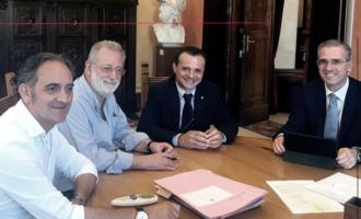 MESSINA – Infrastrutture del territorio della Città Metropolitana. Incontro Ass. regionale Falcone ed il sindaco De Luca