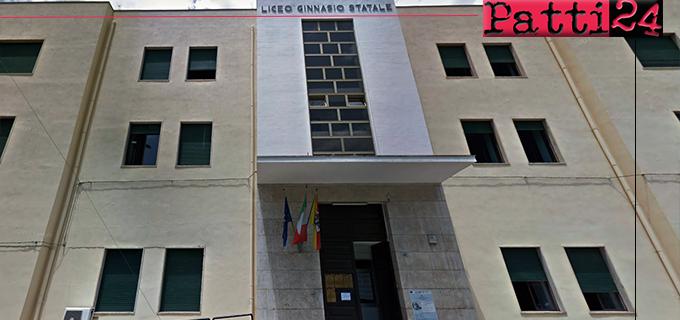 """PATTI – Liceo Classico """"Vittorio Emanuele III"""". Domani incontro di apertura del progetto """"Community for young"""""""