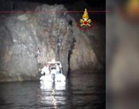 EOLIE – Salvato turista francese 24enne rimasto bloccato su una parete rocciosa