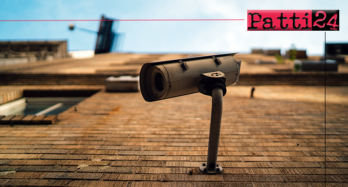 """CAPO D'ORLANDO – Videosorveglianza, già installate 32 telecamere. I punti più """"sensibili"""" indicati dalle forze dell'ordine"""